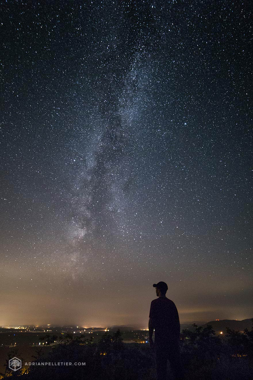 Starry Self-Portrait by Adrian Pelletier
